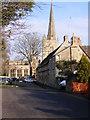 SP2512 : Burford Church by Gordon Griffiths
