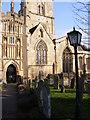 SP2512 : Burford Churchyard by Gordon Griffiths