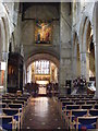 SP2512 : Burford Nave by Gordon Griffiths
