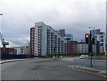 NS5566 : Glasgow Harbour Housing Development by Elliott Simpson