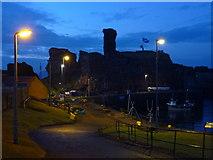 NT6779 : Coastal East Lothian : Dunbar Castle by Richard West