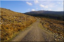 NM6859 : Clear felled areas in Glencripesdale by Pat Macleod