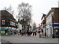 SO9670 : Bromsgrove Start of High Street by Roy Hughes