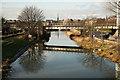 SK9871 : Stamp End bridge by Richard Croft