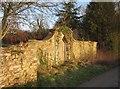 ST1110 : Door in wall, Lower Leigh by Derek Harper