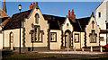 J4187 : Gill's Almshouses, Carrickfergus (4) by Albert Bridge