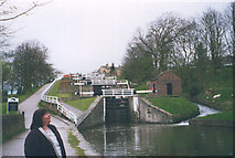 SE1039 : Bingley five-rise locks by Stephen Craven