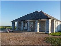 SX9456 : Former Guard House, Berry Head by Robin Drayton