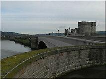SH7877 : Conwy Bridge by Eirian Evans