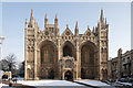 TL1998 : Peterborough Cathedral - west front by Julian Dowse