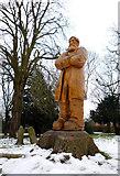 SK4641 : Carving of Samuel Taylor by Patrick Baldwin