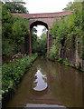 SJ6931 : Holling's Bridge south-east of Market Drayton, Shropshire by Roger  Kidd