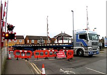 SK8508 : Rail Action at Oakham 01:A load of points by Andrew Tatlow