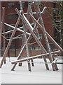 TQ3083 : Play equipment - Joseph Grimaldi Park by Stephen McKay