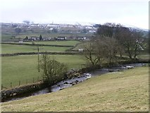 SD8789 : Gayle Beck, below the Pennine Way by Christine Johnstone