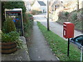 ST6220 : Sandford Orcas: postbox № DT9 43 and phone by Chris Downer