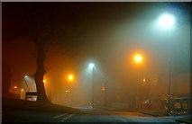 SO9096 : Dual lighting in Penn, Wolverhampton by Roger  Kidd