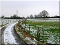 SO9365 : Track to Sagebury farm by Nigel Mykura