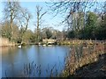 ST2885 : The Lake at Tredegar House Country Park by Robin Drayton