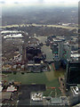 TQ3779 : Canary Wharf from the air by Thomas Nugent