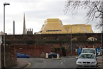 SO8455 : The changing skyline of Worcester by Bob Embleton