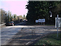 SP1800 : Entrance to Hanson Claydon Pike Works and Coln Country Park by Vieve Forward