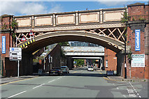 SJ8297 : Bridges, Water Street, Manchester by Stephen Richards