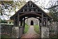 TQ7775 : Lych gate, Church of St Margaret by N Chadwick