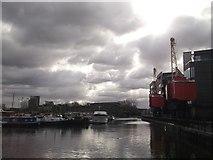 TQ3880 : Poplar Dock by David Anstiss