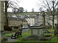 SK2375 : Stoney Middleton village from the churchyard by Andrew Hill