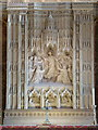 ST6316 : Sherborne: the abbey reredos by Chris Downer