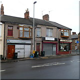 ST3288 : NE end of Church Road, Newport by Jaggery
