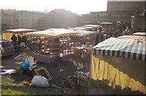 ST7565 : Flea market, Walcot Street, Bath by Derek Harper