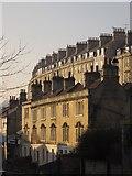 ST7565 : Terraces in Bath by Derek Harper