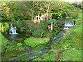 ST5347 : Wookey Hole - Fantasy Garden by Chris Talbot