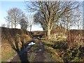 NT6926 : Kirkbank Crossing by Richard Webb
