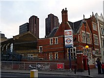 TQ3179 : Waterloo Station Entrance, Baylis Road SE1 by Robin Sones