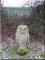 TA0287 : Carved owl in Falsgrave Park by John S Turner