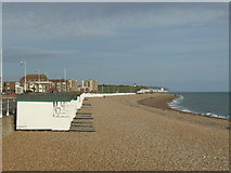 TQ7407 : Bexhill beach by Malc McDonald