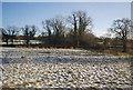 SJ8376 : Snow covered field near Nether Alderley by N Chadwick