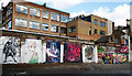 TQ3385 : Graffiti, Shoreditch by Julian Osley