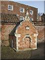 TA1063 : Wellhead, Burton Agnes Hall by Pauline E
