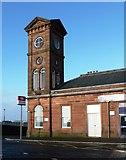NS4238 : Kilmarnock Railway Station by Mary and Angus Hogg