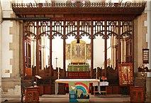 TQ2382 : St Martin, Mortimer Road, Kensal Rise - Chancel by John Salmon