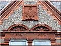 SO8996 : Decorative terracotta, 54/56 Coalway Road by Alan Murray-Rust
