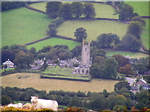 SX7176 : Widecombe-in-the-Moor by Martin Brown
