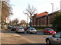SP0583 : Heavy traffic on Bristol Road, Bournbrook by Phil Champion