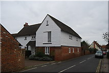 TR1859 : Weatherboarded cottage by N Chadwick