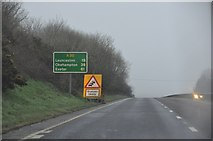 SX0868 : North Cornwall : The A30 Road by Lewis Clarke