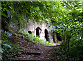 SK4338 : The Hermits Cave of Dale Abbey by Patrick Baldwin